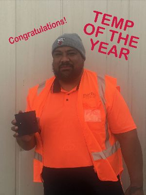 Martin Personnel temp of the year 2018