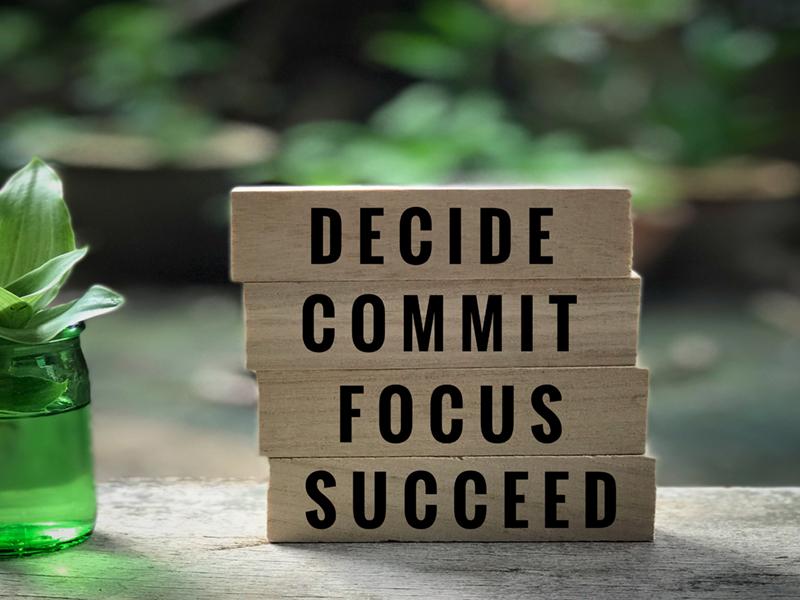 Achievement Requires Commitment